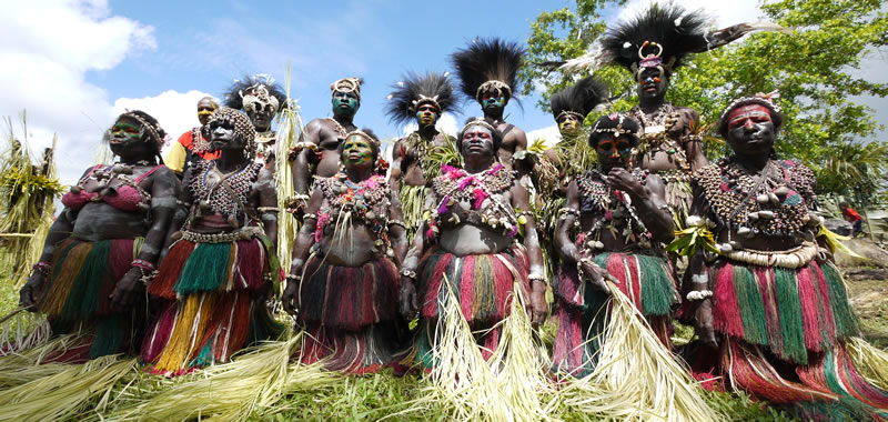 Crocodile Festival in Papua New Guinea