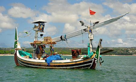 Fishboat Bali