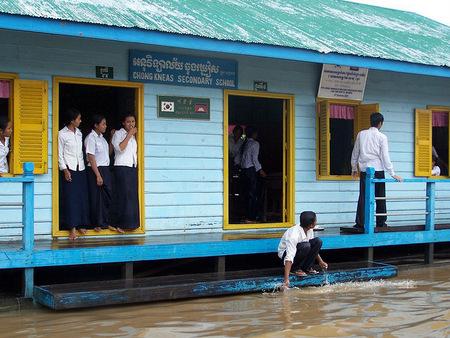 School at Tonle Sap