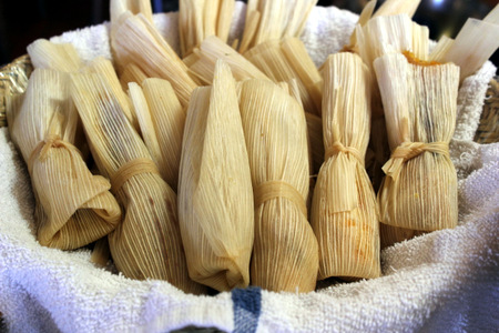 Tamales at Santa Fe School of Cooking