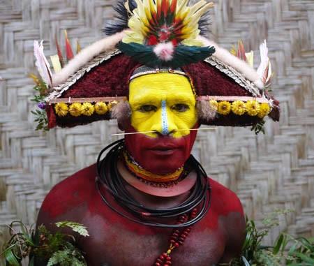 Huli with ambua