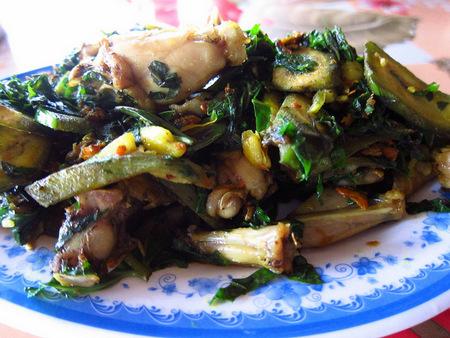 Vietnamese Frog dish