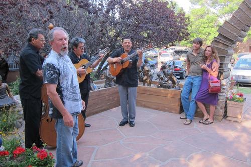 Santa Fe entertainers