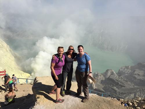 Jan-Beth-Bari-Hiking