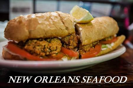 Oyster Po-boy in New Orleans