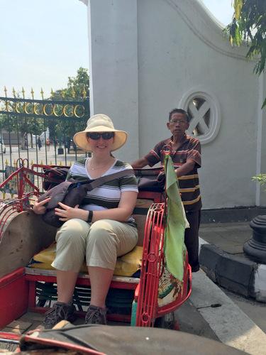 Indonesian cyclo