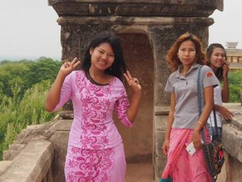 Burmese Ladies