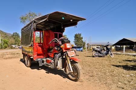 Burmese Motorcycle Taxi