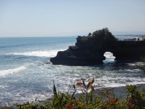 Indonesia Sea Temple