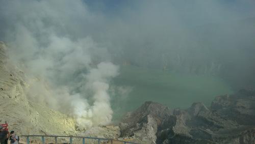 Mt. Ijen volcano