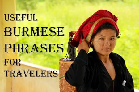 Burmese Phrases for Travelers