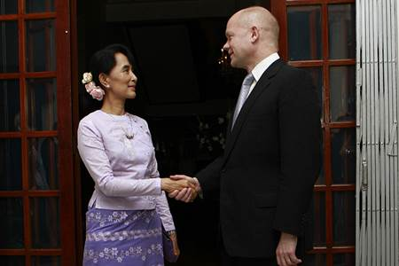 Visit to Daw Aung San Suu Kyi