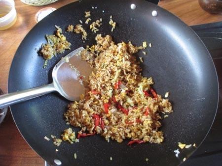 Fried rice in Bali