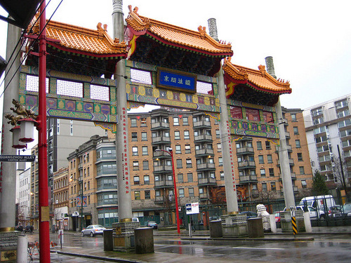 Vancouver Chinatown gate