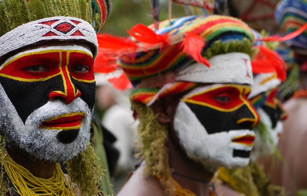 Papua New Guinea Tribesman