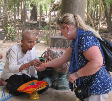 Monk's blessing