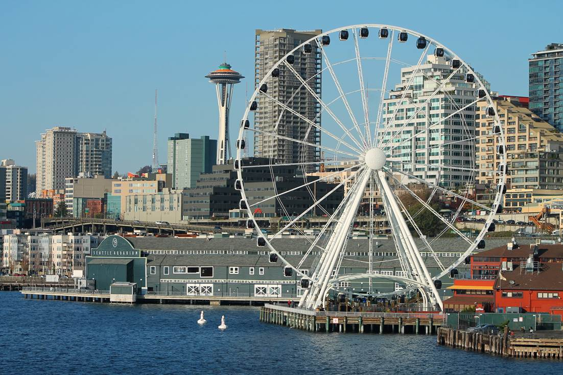 Wondrous Views From The Seattle Great Wheel