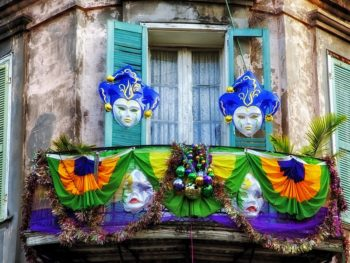 New Orleans French Quarter corner by tpsDave