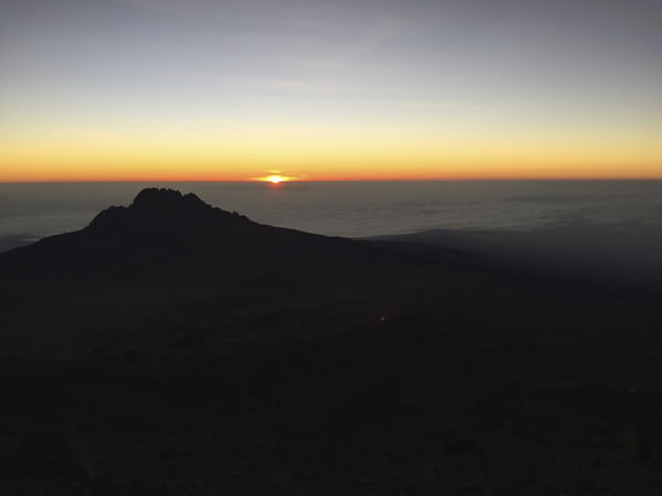 Sunrise Mt Kilimanjaro