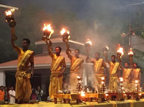 India Aarti Prayer Varanasi