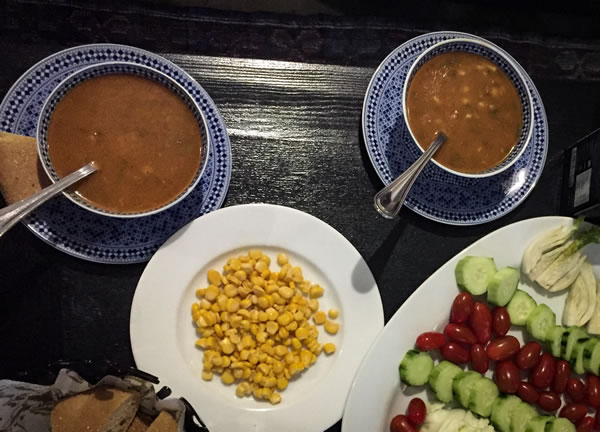 Harira soup Morocco