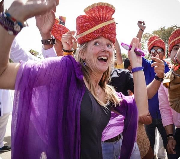 Beth Whitman Wedding India