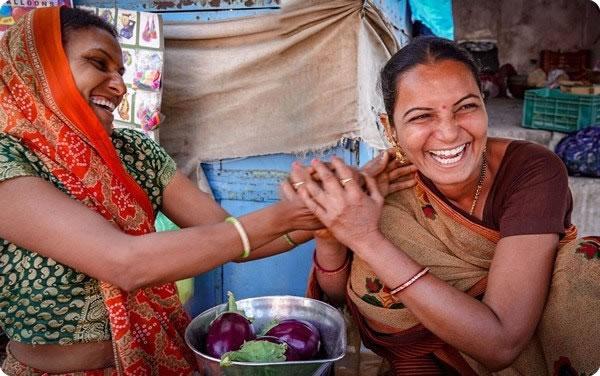 India Gujarat women vendors