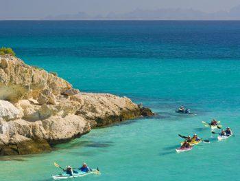 Kayaking Cove Baja