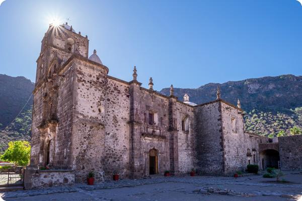 San Javier Mission Baja