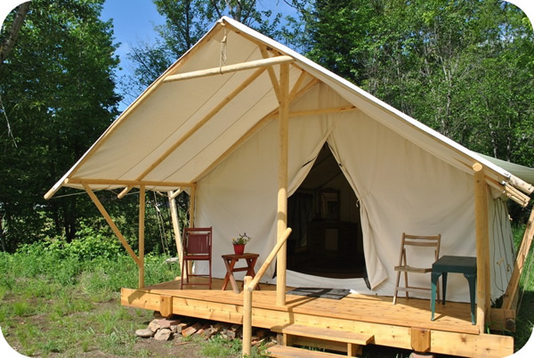 River dance Tent Glamping
