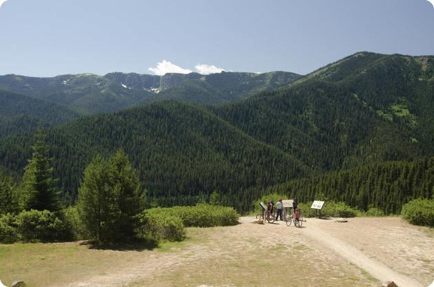 Biking Scenery PNW