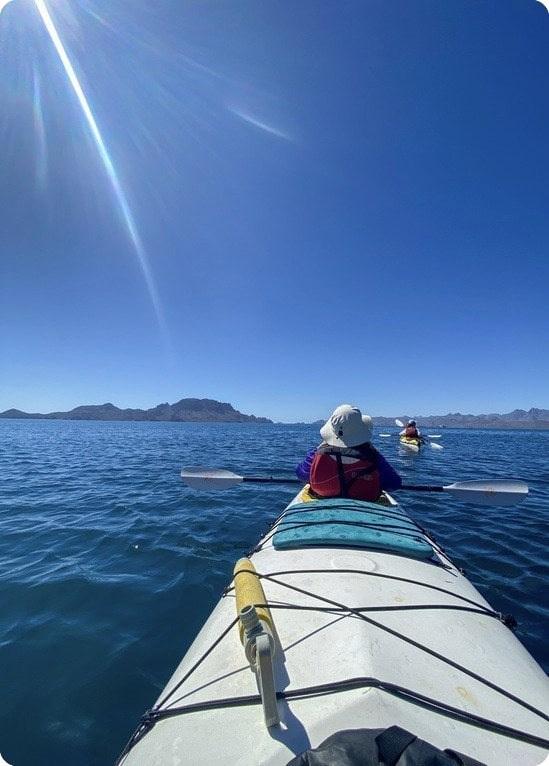 Kayak Baja Tour