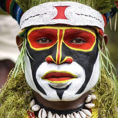 Mt Hagen SingSing Papua New Guinea